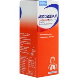MUCOSOLVAN SAFT 30MG/5ML